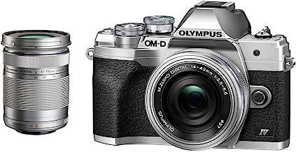 $698 » Olympus OM-D E-M10 Mark IV Digital Camera with M.Zuiko Digital ED 14-42mm f/3.5-5.6 EZ Lens and M.Zuiko Digital ED 40-150m...