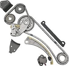 MOCA Timing Chain Kit Gear for 96-03 Suzuki Sidekick Esteem & Suzuki Vitara SX4 & 99-03 Chevrolet Tracker 1.8L 2.0L 2.3L 16V J20B J18A