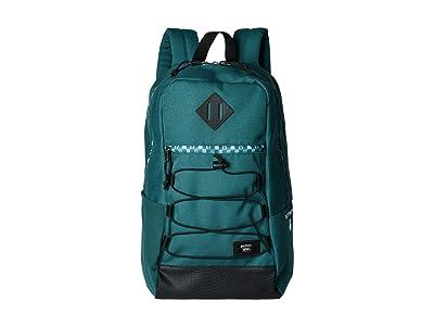 Vans Vans X Harry Potter Backpack Collection (Slytherin (Snag)) Backpack Bags