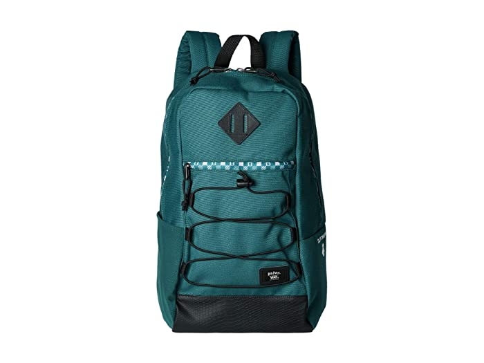Vans   X Harry Potter Backpack Collection (Slytherin (Snag)) Backpack Bags