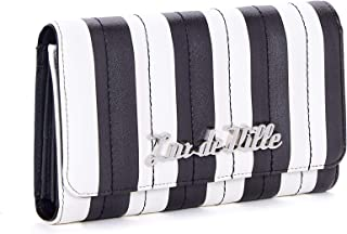 Lux de Ville Bad Reputation Wallet (Black and White Matte)