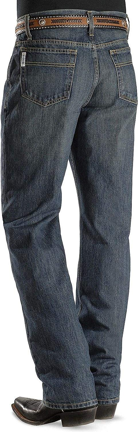 Cinch SALENEW very popular Men's Jeans White Label Relaxed Fit Direct stock discount Stone x 44W Dark 32L