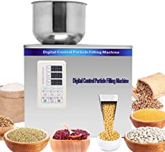 Hanchen Powder Filling Machine 1-50g Particle Weighing Filling Machine Automatic 110v Powder Filler for Tea Seeds Grains Powder