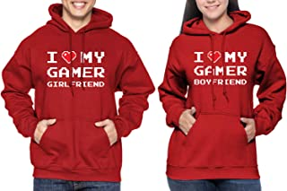 Matching Couple I Love My Gamer Girlfriend/Boyfriend Hoodie Sweatshirt