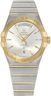 Constellation Co-Axial Day-Date 38mm Yellow Gold on Steel Men's Watch 123.20.38.22.02.002