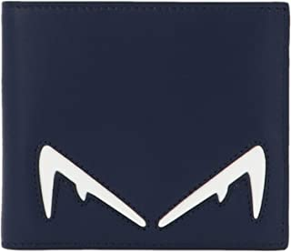 Luxury Fashion | Fendi Mens 7M0169A80SF17Q2 Blue Wallet | Fall Winter 19