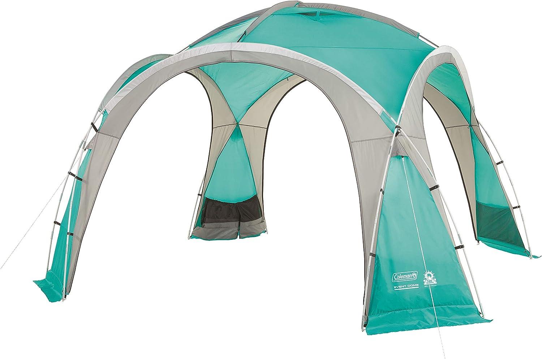 Coleman Event Dome Pavillon, stabiles Partyzelt mit Stahlgestnge, Gazebo, Eventzelt, Sonnenschutz SPF 50+