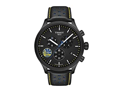 Tissot Chrono XL NBA Golden State Warriors Championship Edition T1166173605102 (Black/Black/Blue) Watches