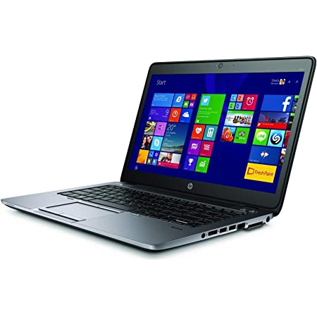 (Renewed) HP 840g2 EliteBook Laptop ( Intel Core i5 - 5300u /4 GB/2000 GB HDD/Windows 10 Pro/Black /14 Inch Screen)