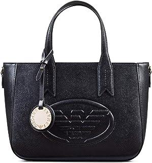 2159c102ce Emporio Armani Eagle Logo Femme Handbag Noir
