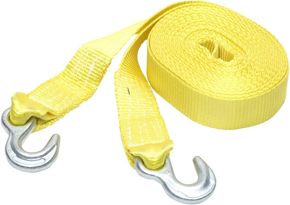 SmartStraps 30' Tow Strap with Yellow– 9 SEAL limited product trend rank Hooks 000lb