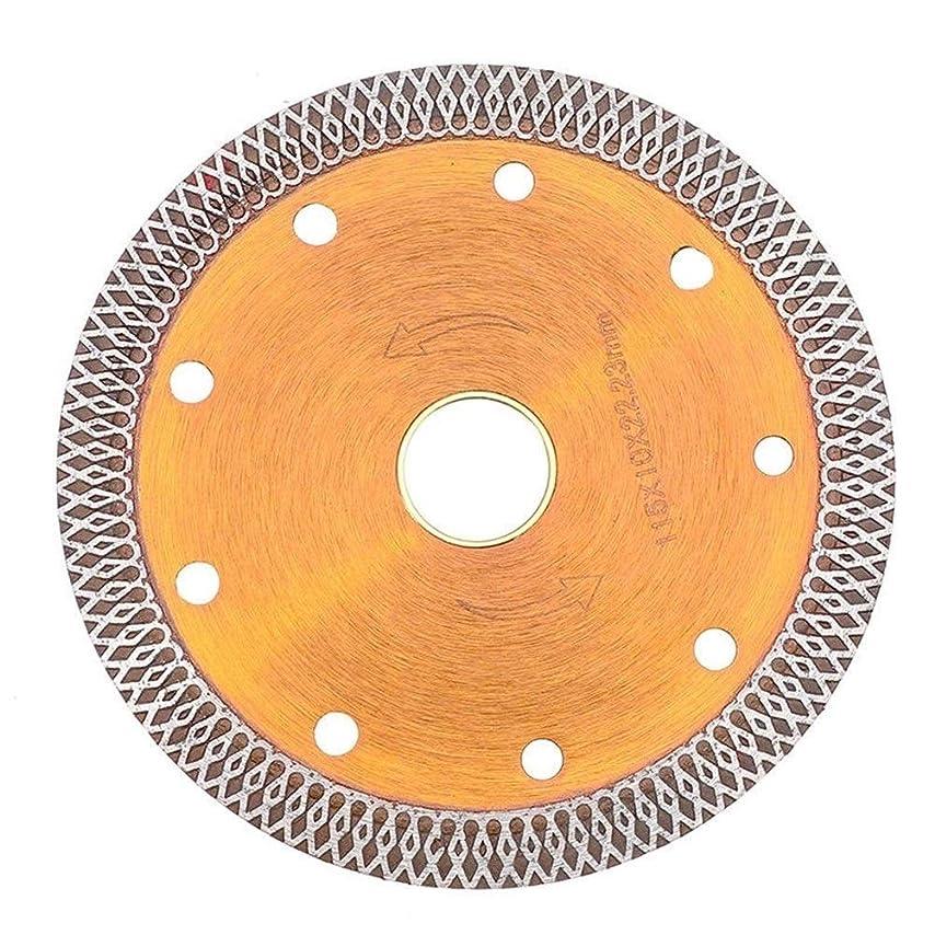 火山学エンジン視聴者DXX-HR 鋸刃、115ミリメートルダイヤモンド花崗岩カッターディスクのカッティングソーブレードシンホイール磁器タイルセラミック花崗岩カッター切削工具
