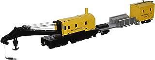 Bachmann Trains Pennsylvania Railroad (Yellow) Boom Crane and Tender
