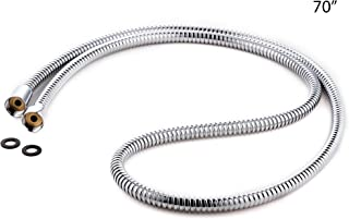 FHA020 CIENCIA Stainless Steel Shower Hose Extra Long 2.5m Bathroom Toilet Shower Head Hose Handheld Showerhead Sprayer Extension Replacement