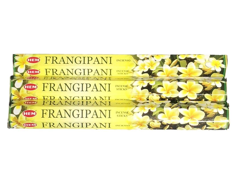 お願いしますマーキーシードHEM ヘム フランギパニ FRANGIPANI ステック お香 3箱