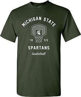 NCAA Basketball Net, Team Color T Shirt, College, University