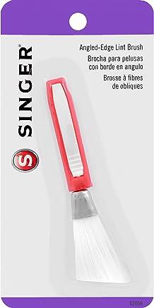 Singer 02056 - Cepillo para Polvo para Pelusas con Borde en ángulo y Agarre cómodo