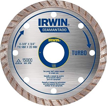Irwin, Disco Diamantado Turbo Standard 110 x 20 mm, Prata