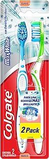 Colgate Cepillo Dental MaxWhite Complete Clean Suave, el empaque puede variar