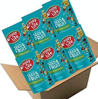 Enjoy Life Seed & Fruit Mix, Soy free, Nut free, Gluten free, Dairy free, Non GMO, Vegan, Mountain Mambo, 6 Ounce Bags (Pack of 6)