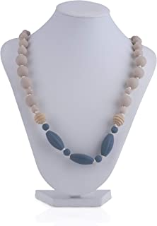 Nuby Baby Teething Trends Oblong Beaded Necklace for Moms