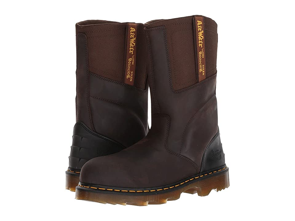Dr. Martens Kirkham ST (Gaucho Volcano/Dark Brown Extra Tough Nylon) Boots