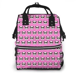 Panda Fabric Multi-Function Travel Backpack Nappy Bag,Fashion Mummy Bag