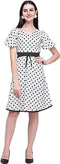J B Fashion Crepe a-line Dress