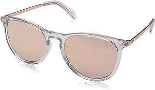نظارة شمسية للرجال من فوسيل FOS 3078/S، شفاف (كريستال)، 53
