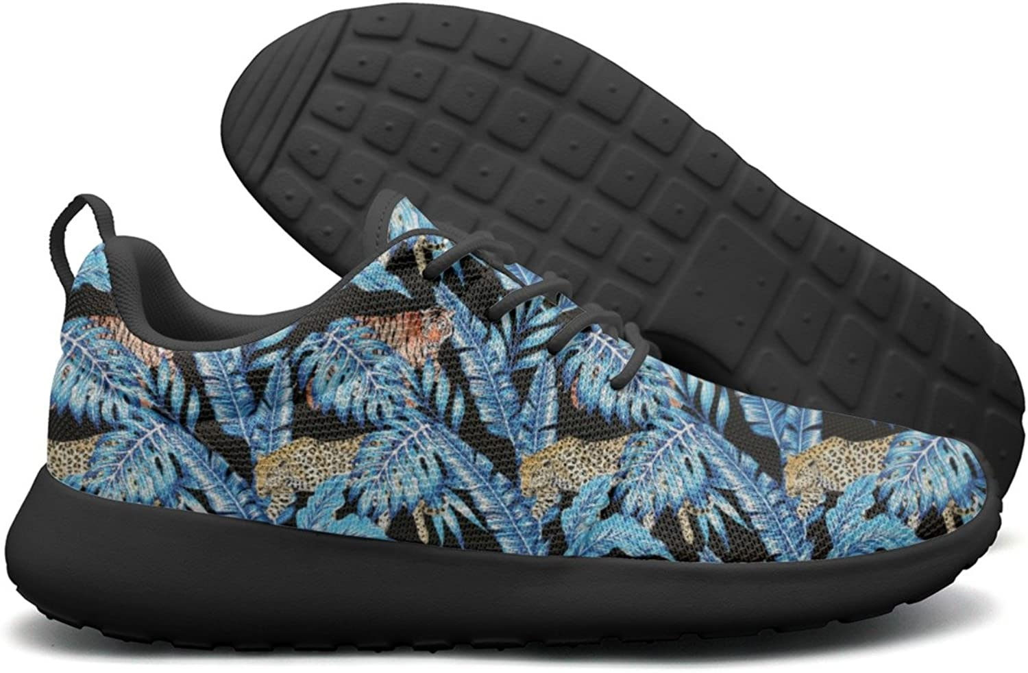 Plants Hawaii Summer Palm Leaves With Tiger Man Neutral Casual Running shoes Jogger colorful