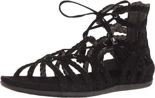Kenneth Cole REACTION Wohommes Slim Loop Gladiator Sandal, noir, 7 M US