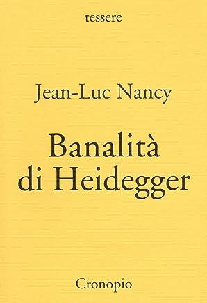 Banalità di Heidegger