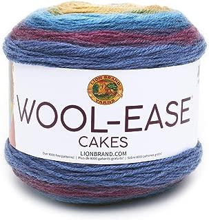 Lion Brand Yarn 621-205 Wool-Ease Cakes Yarn, One Skein, Zeus