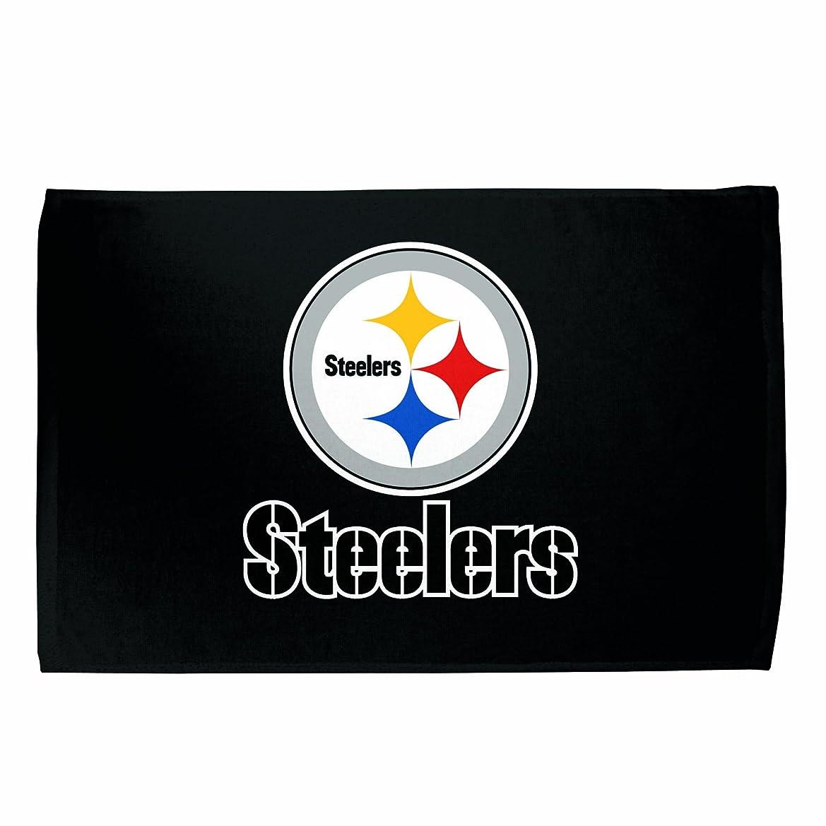 放射能アレンジソロPittsburgh Steelers Sports Towel (Black)