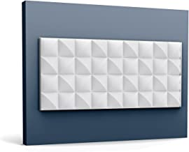 3d muurpaneel Orac Decor W113 MODERN COBBLE Wandpaneel Sierelement modern design wit 2 m