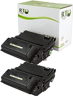 Renewable Toner Compatible Toner Cartridge Replacement for HP Q1338A 38A HP 42A Q5942A for Laserjet 4200 4240 4250 (Black, 2-Pack)