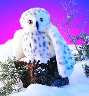 Plush Collectibles Folkmanis Snowy Owl Hand Puppet