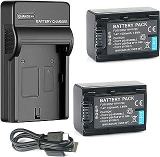 HDR-XR350V Handycam Camcorder HDR-XR160 HDR-XR260V Dual Channel Battery Charger for Sony HDR-XR150
