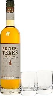"Writer""s Tears Blend mit Geschenkverpackung mit 2 Gläsern Whisky 1 x 0.7 l, Pot Still/Copper Pot  Modell Sortiert"