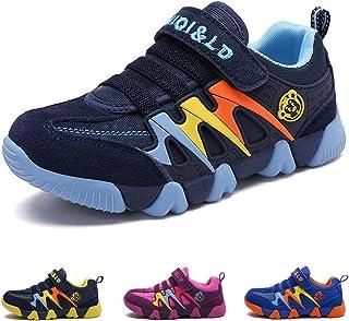 7125c67a9d92b Chaussures de Tennis Garçon Fille Chaussure de Course Sports Mode Basket  Sneakers Running Compétition Entraînement pour
