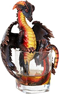 "Drinks & Dragons Fantasy Rum Dragon Collectible Figurine Collection by Stanley Morrison 6.75"" H"