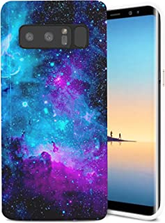 Samsung Galaxy Note 8 Case, ZUSLAB Slim Shockproof Flexible TPU, Soft Rubber Silicone Skin Cover for Samsung Galaxy Note 8 (Purple Nebula)