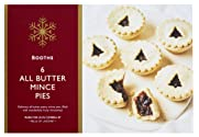 Booths All Butter Mince Pies, 6 Pack
