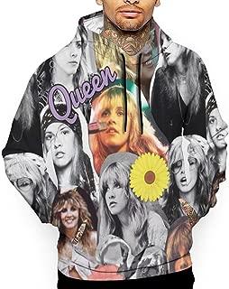 Men's 3D Print Hoodie Sweatshirt Stevie Rumours Nicks Sports Cotton Sweater