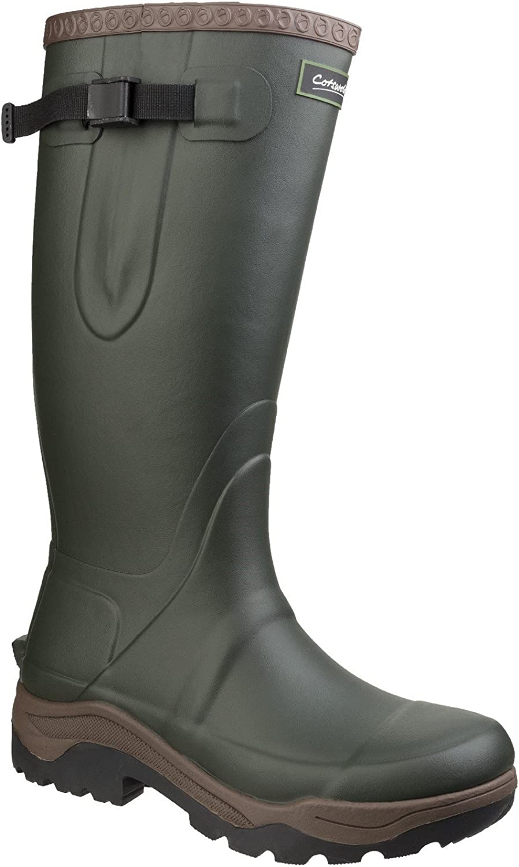 Cotswold Mens Compass Neoprene Slip Resistant Rubber Wellington Boots