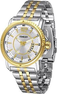 Time100 Men's Classic Business Quartz Watch with Luminous Hands and Calendar