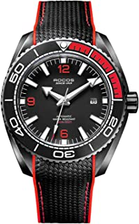 Watches for Men - Pro Diver Watch - Sports Watch for Men with Screw Down Crown for 10ATM of Water Resistance - Analog Dial, Automatic Movement - Mens Watches Collection - R0146