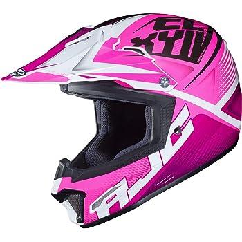 MEDIUM PINK//WHITE HJC CL-XY2 Youth Helmet Argos 0865-2508-55