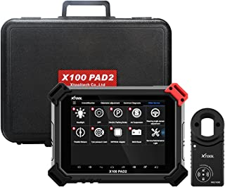 XTOOL X100 Pad2 Pro with KC100 Key Programmer Engine/EPB/TPS/Oil Rest Full System OBDII Diagnostic Tool for VW 4th and 5th Immo
