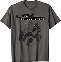 Alien UFO 4X4 Off Road The Truth Is Out There Shirt